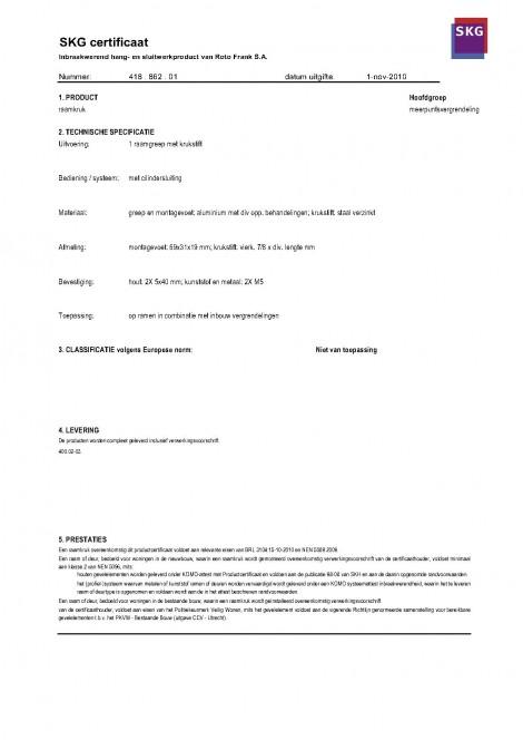Roto Handles Guvenlik Certifica_2