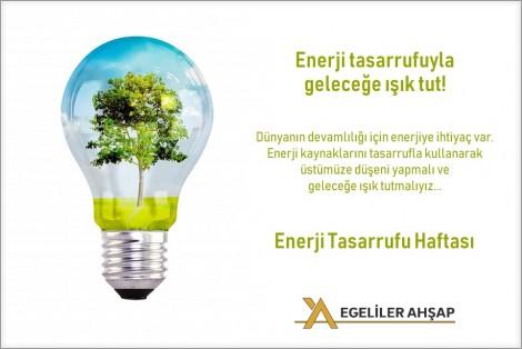 1-18 OCAK ENERJİ TASARRUF HAFTASI